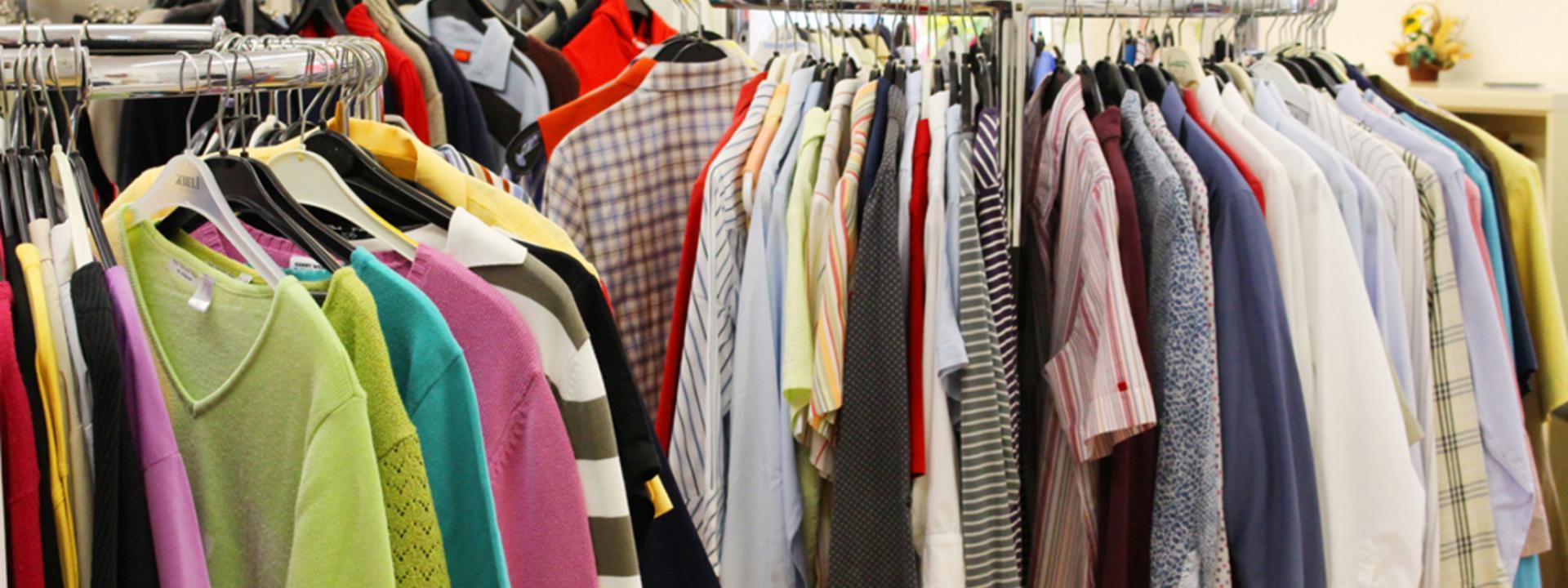 Kleiderstube und Tafel
